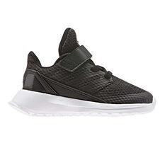 adidas Rapidarun Kids Running Shoes Black / White US 4, Black / White, rebel_hi-res