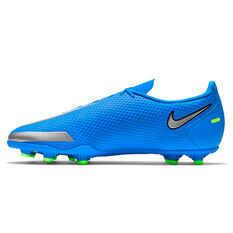 Nike Phantom GT Club Football Boots Blue US Mens 7 / Womens 8.5, Blue, rebel_hi-res