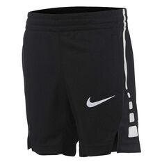 Nike Boys Elite Stripe Short Black 4, Black, rebel_hi-res