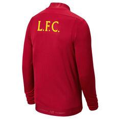 Liverpool FC 2019/20 Mens Game Jacket Red S, Red, rebel_hi-res