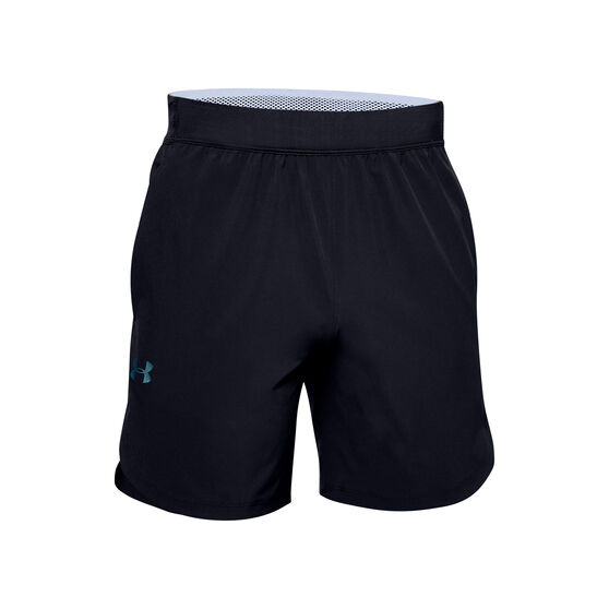 Under Armour Mens Stretch Woven Shorts, Black, rebel_hi-res