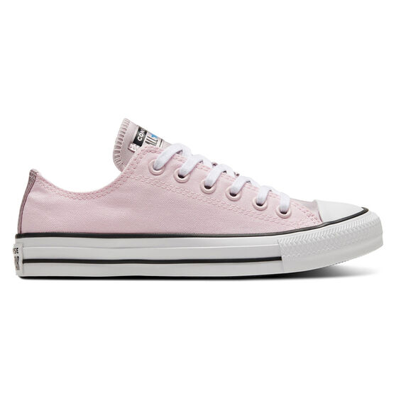 Chuck Taylor All Star Low Mono Metallic Womens Casual Shoes, Pink, rebel_hi-res