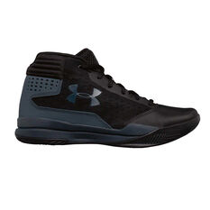 Under Armour Jet 2017 Boys Basketball Shoes Blue / Grey US 4, Blue / Grey, rebel_hi-res