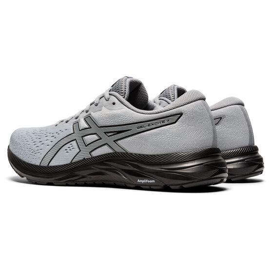 Asics GEL Excite 7 Mens Running Shoes, Grey/Black, rebel_hi-res