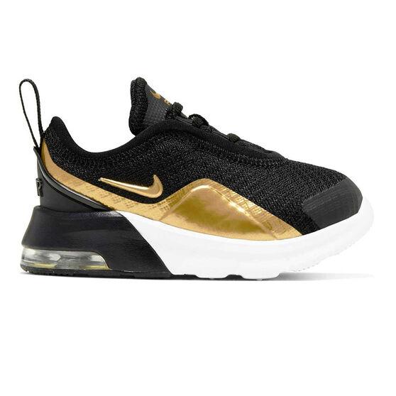 Nike Air Max Motion 2 Toddlers Shoes, Black / Gold, rebel_hi-res