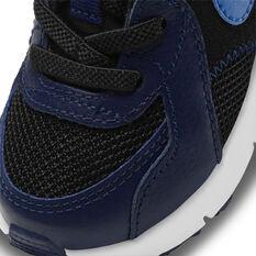 Nike Air Max Excee Toddler Shoes, Black/Blue, rebel_hi-res