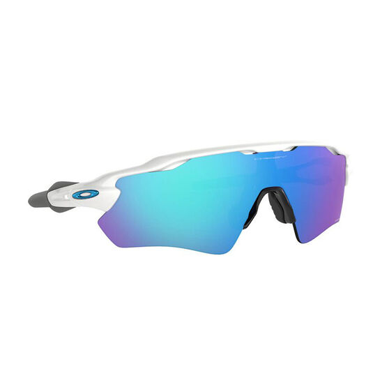 Oakley Radar EV Path Sunglasses Polished White/Prizm Sapphire, Polished White/Prizm Sapphire, rebel_hi-res