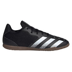 adidas Predator Freak .4 Sala Indoor Soccer Shoes Black US Mens 7 / Womens 8, Black, rebel_hi-res