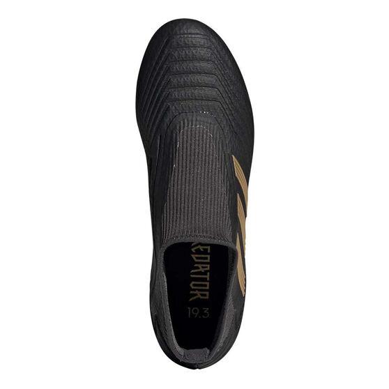 adidas Predator 19.3 Laceless Football Boots, Black / Gold, rebel_hi-res