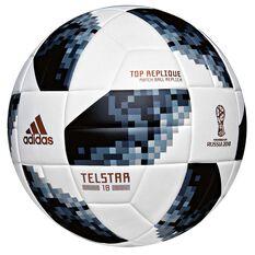 adidas Telstar 2018 Top Replique Soccer Ball White / Black 4, White / Black, rebel_hi-res