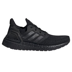 adidas Ultraboost 20 Womens Running Shoes Black/Red US 6, , rebel_hi-res