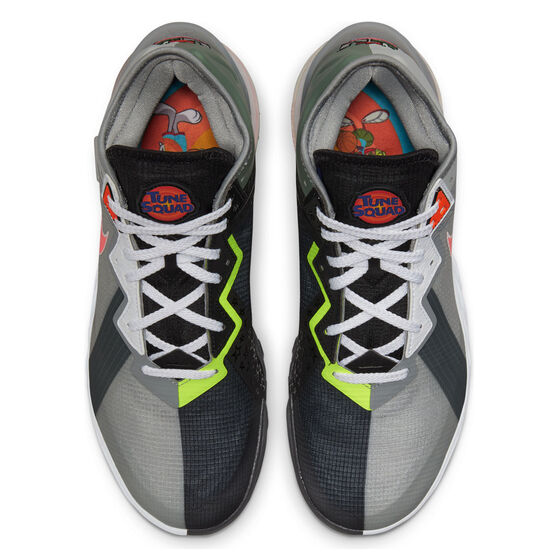 Nike LeBron 18 Low x Space Jam: A New Legacy Basketball Shoes, Grey, rebel_hi-res