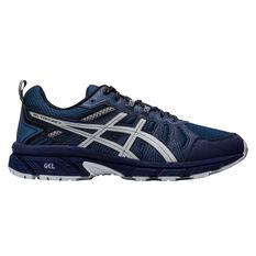 Asics GEL Venture 7 Mens Trail Running Shoes Blue/Grey US 7, Blue/Grey, rebel_hi-res