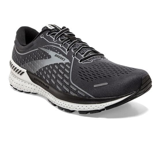 Brooks Adrenaline GTS 21 Mens Running Shoes, Grey, rebel_hi-res