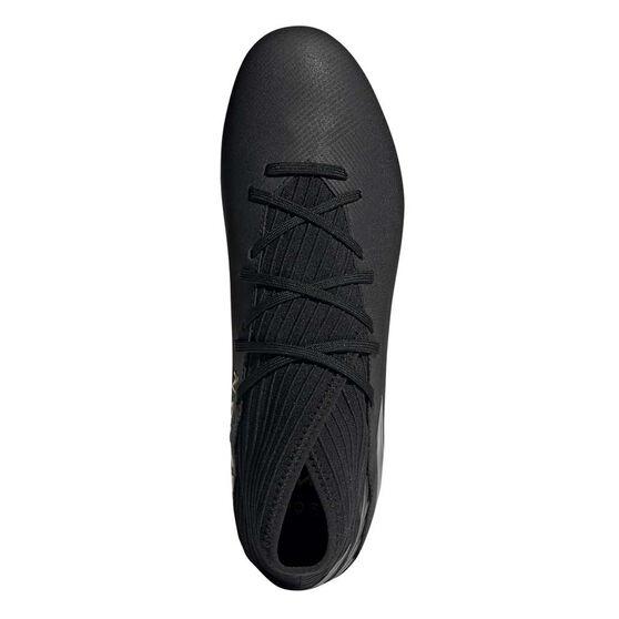adidas Nemeziz 19.3 Football Boots, Black, rebel_hi-res