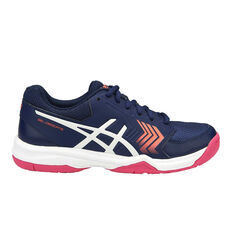 Asics Gel Dedicate 5 Womens Tennis Shoes Blue / Pink US 6, Blue / Pink, rebel_hi-res