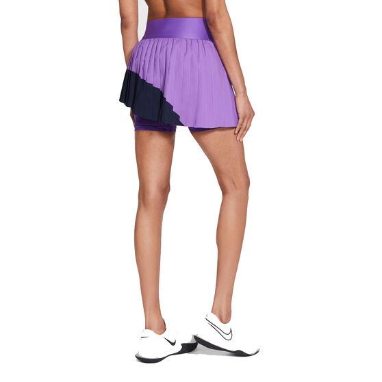 NikeCourt Womens Slam Tennis Skirt, Purple, rebel_hi-res