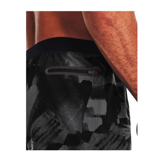 Under Armour Mens Reign Woven Shorts, Black, rebel_hi-res