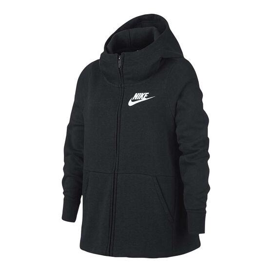 Nike Girls Sportswear Full Zip Hoodie, , rebel_hi-res