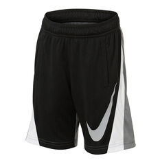 Nike Boys Colourblock Shorts Grey 4, Grey, rebel_hi-res
