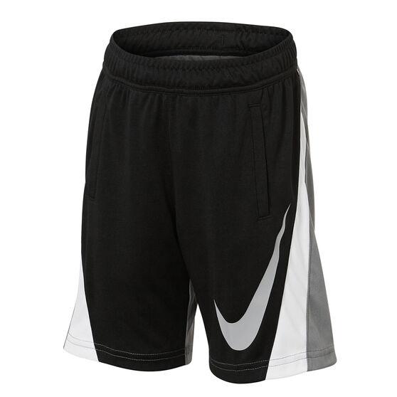 Nike Boys Colourblock Shorts, Grey, rebel_hi-res