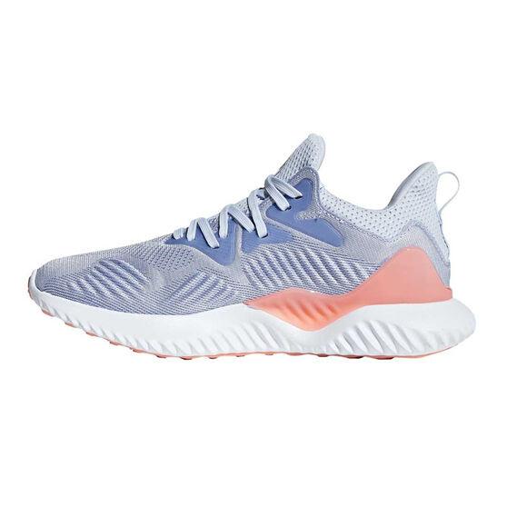 adidas Alphabounce Beyond Girls Running Shoes Blue / Purple US 4, Blue / Purple, rebel_hi-res