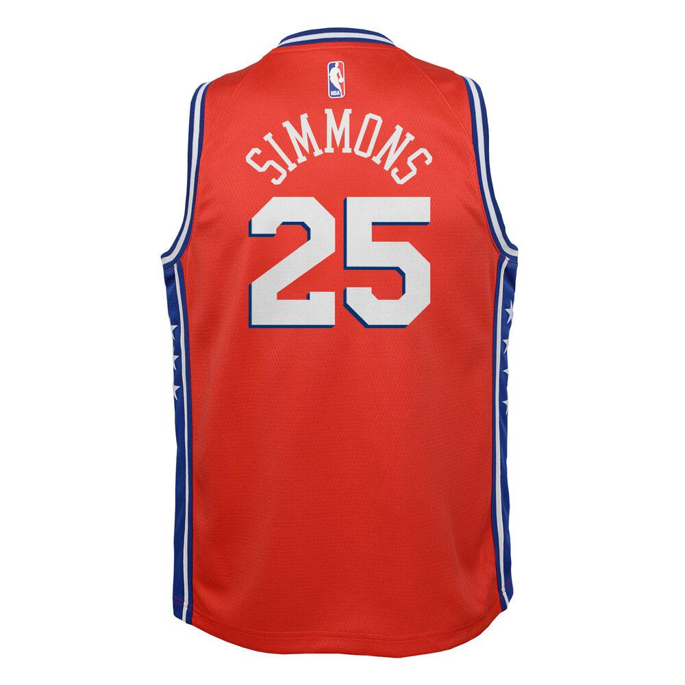 c43b6810c Nike Philadelphia 76ers Ben Simmons Statement 2019 Swingman Jersey ...