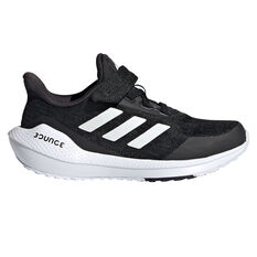 adidas EQ21 Run Kids Running Shoes Black/White US 11, Black/White, rebel_hi-res