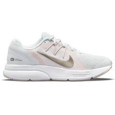 Nike Zoom Span 3 Womens Running Shoes Grey/Pink US 6, Grey/Pink, rebel_hi-res