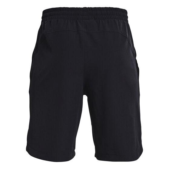 Under Armour Boys Project Rock Woven Shorts Black XS, Black, rebel_hi-res