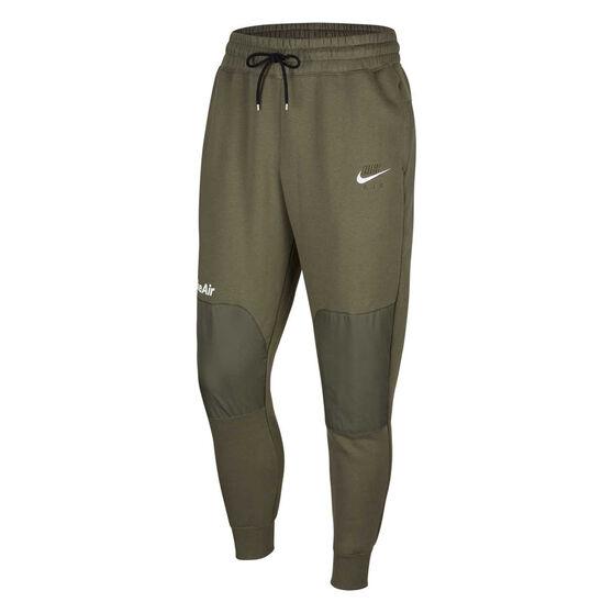Nike Air Mens Fleece Track Pants, Khaki, rebel_hi-res