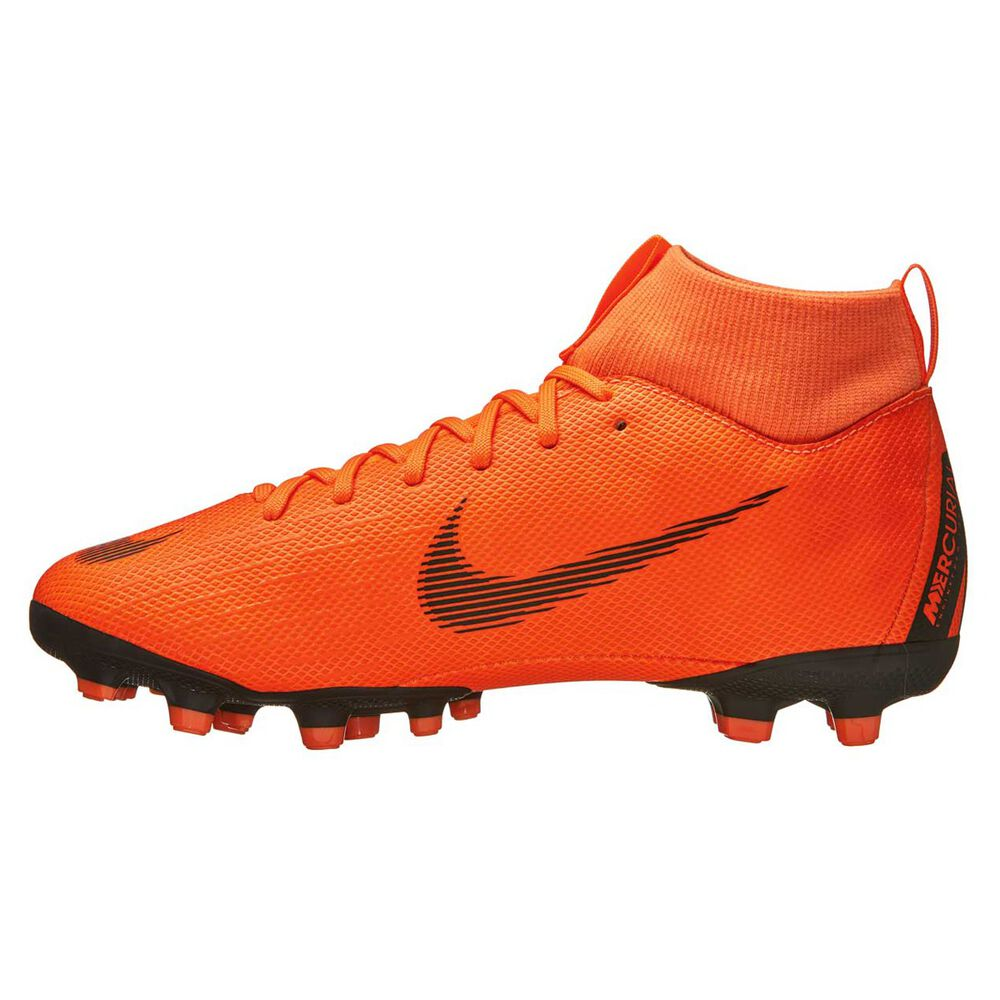 ec591df53 Nike Mercurial Superfly 6 Academy MG Kids Football Boots Orange   White US  3 Junior