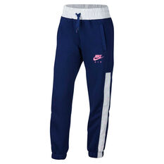 Nike Air Girls Pants Blue XS, Blue, rebel_hi-res
