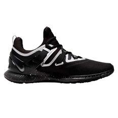Nike Flexmethod Trainer Mens Training Shoes Black / Silver US 7, Black / Silver, rebel_hi-res