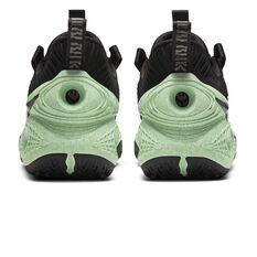 Nike Cosmic Unity Basketball Shoes, Navy/Green, rebel_hi-res