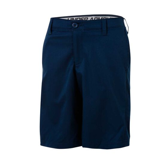 Under Armour Boys Match Play Shorts, Navy / Grey, rebel_hi-res