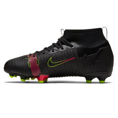 Nike Mercurial Superfly 8 Academy Kids Football Boots Black US 1, Black, rebel_hi-res