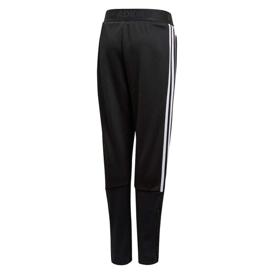 adidas Boys Tiro 3-Stripes Pants, Black/White, rebel_hi-res