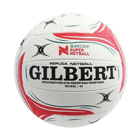 Gilbert Suncorp Super Netball Replica Match Ball 5, , rebel_hi-res
