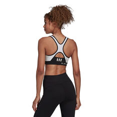 adidas Womens Karlie Kloss Believe This Sports Bra Black XS, Black, rebel_hi-res