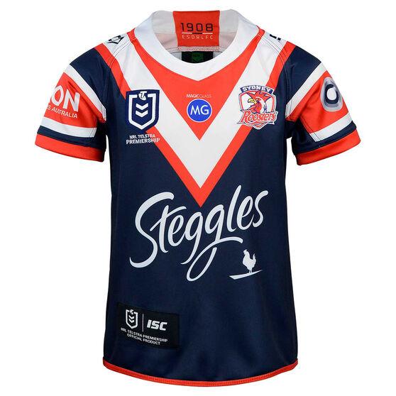 Sydney Roosters 2020 Kids Home Jersey, , rebel_hi-res