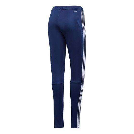 adidas Womens Tiro 19 Training Pants, Blue / White, rebel_hi-res