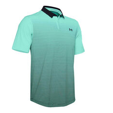 Under Armour Mens Iso-Chill Gradient Polo Blue S, Blue, rebel_hi-res