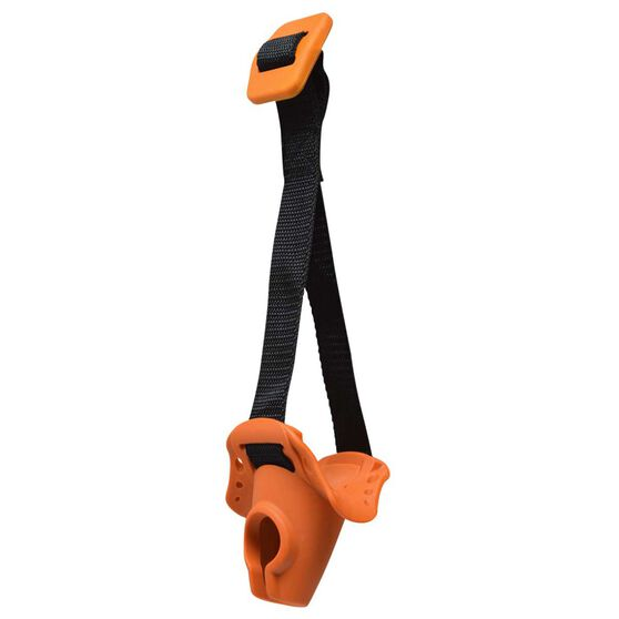 SPRI Premium Door Anchor Black / Orange, , rebel_hi-res