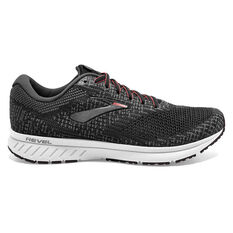 Brooks Revel 3 Womens Running Shoes Grey / Black US 6, Grey / Black, rebel_hi-res