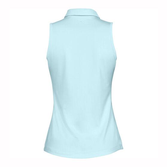 Under Armour Women Zinger Sleeveless Polo, Blue, rebel_hi-res