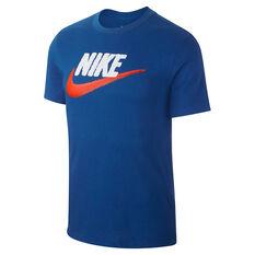 Nike Mens Sportswear Brandmark Tee, Blue, rebel_hi-res