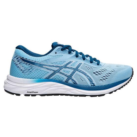 Asics GEL Excite 6 D Womens Running Shoes, Blue, rebel_hi-res