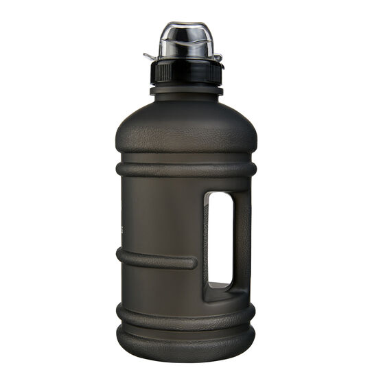 Celsius Inspire 1L Soft Touch Water Bottle Black, Black, rebel_hi-res