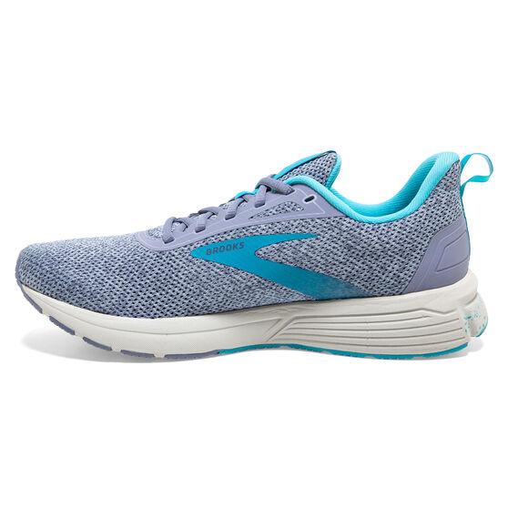 Brooks Anthem 3 Women Running Shoes, Blue/Grey, rebel_hi-res